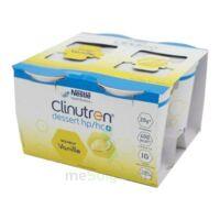 Clinutren Dessert 2.0 Kcal Nutriment Vanille 4cups/200g à PINS-JUSTARET