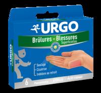 Urgo Brulures-blessures Petit Format X 6 à PINS-JUSTARET