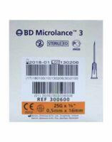 Bd Microlance 3, G25 5/8, 0,5 Mm X 16 Mm, Orange  à PINS-JUSTARET