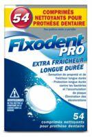 Fixodent Pro Comprimés Nettoyant Fraîcheur Longue Durée Pour Prothèse Dentaire B/54 à PINS-JUSTARET