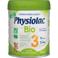 Physiolac Bio Lait 3éme Age 800g à PINS-JUSTARET