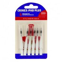 Crinex Phb Plus Brossette Inter-dentaire Cylindrique B/6 à PINS-JUSTARET