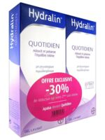 Hydralin Quotidien Gel Lavant Usage Intime 2*200ml à PINS-JUSTARET
