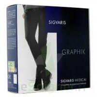 Sigvaris Graphik 2 Chaussette Homme Cobalt N Large à PINS-JUSTARET