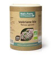 Nat&form Eco Responsable Valériane Bio Gélules B/200 à PINS-JUSTARET
