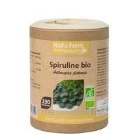 Nat&form Eco Responsable Spiruline Bio Comprimés B/200 à PINS-JUSTARET