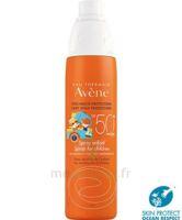 Avène Eau Thermale Solaire Spray Enfant 50+ 200ml à PINS-JUSTARET