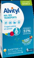 Alvityl Sucette Mal Des Transports B/10 à PINS-JUSTARET