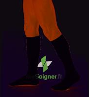 Dynaven Fin Chaussettes  Homme Classe 2 Noir Small Long à PINS-JUSTARET