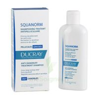 Ducray Squanorm Shampooing Pellicule Grasse 200ml à PINS-JUSTARET