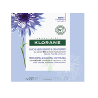 Klorane Bleuet Bio Patchs Défatigants Express 7x2 Patchs à PINS-JUSTARET