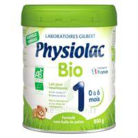 Physiolac Bio 1 Lait En Poudre B/800g à PINS-JUSTARET